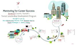 Mentoring for Career Success