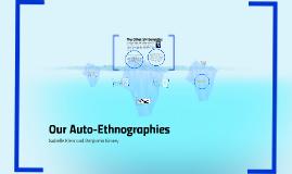 Auto - Ethnographies