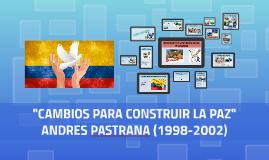 """""""CAMBIOS PARA CONSTRUIR LA PAZ"""""""