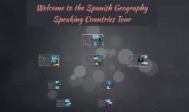 Speaking Countries Tour