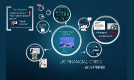 US Financial Crisis -2008