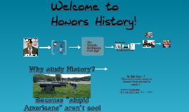 Introduction to Honors History 2017