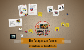 The Parapan Am Games