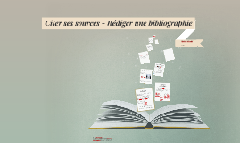 Citer et rédiger une bibliographie