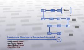 Inventario de Situaciones y Respuestas de Ansiedad
