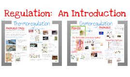 AP Bio- Physiology: Thermoregulation & Osmoregulation