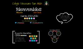 Presentación Curso 2015-2016