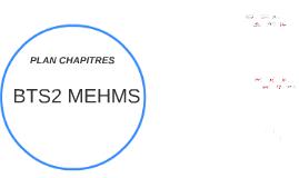 BTS2 MEHMS PLAN CHAPITRES