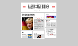 Copy of PASSIVSÄTZE BILDEN