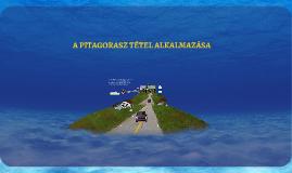 Pitagorasz tétel alkalmazása, www.matekprezi.com, dr. Gerőcs László, Anna Tóthné Szalontay