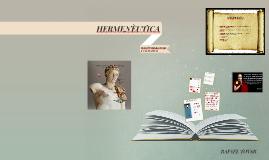 Copy of HERNÈUTICA