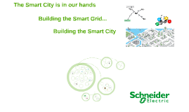 Copy of The Four Smart Grid tentacles wrap the city of the future