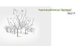 """Proyecto de publicidad para """"Divertilandia"""""""