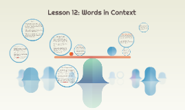 Lesson 12: Words in Context