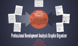 Professional Development Analysis Graphic Organizer