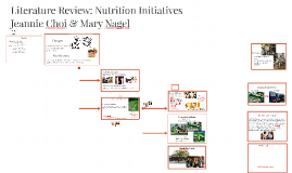 Copy of Copy of Nutrition Initiatives Literature Review