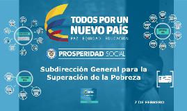 Subdirección General para la Superación de la Pobreza