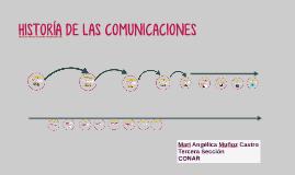 HISTORÍA DE LAS COMUNICACIONES
