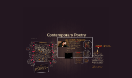Copy of Contemporary Poetry