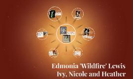 Edmonia 'Wildfire' Lewis and Haiti