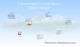 """Национальный фонд помощи """"Жылу жинау"""""""