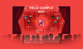 FELIZ CUMPLE MAY