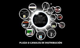Copy of PLAZA O CANALES DE DISTRIBUCIÓN