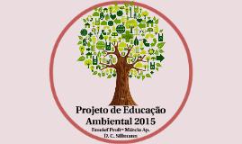 Projeto de Educação Ambiental 2015