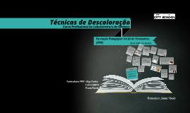 Copy of Técnicas de Descoloração