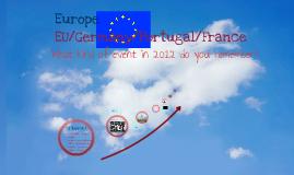 Looking back 2012 Europe