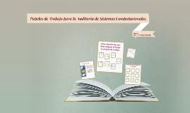 Copy of Papeles de Trabajo para la Auditoría de Sistemas Computacion