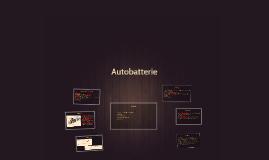 Autobatterie