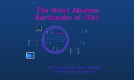 Great Alaskan Earthquake