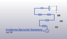 Incidentes Ejecuciòn Sentencia