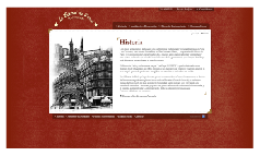 Sitio Web -  Bistrot París