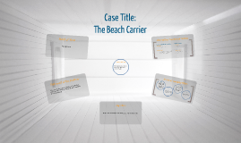 Copy of Case Analysis: The Beach Carrier