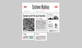 tropical cyclone mahina