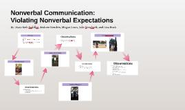 Nonverbal Communication: Violating Nonverbal Expectations