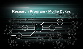 Research Program - Mollie Dykes