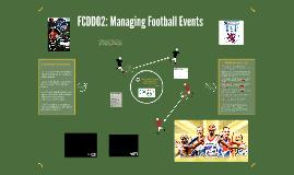 FCDD02: Managing Football Events