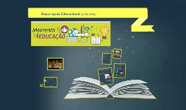 MOMENTO EDUCAÇÃO 25/11/2015