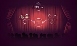 CIS 112