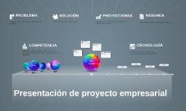 Copia de Presentación de proyecto empresarial
