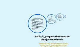 Copy of Currículo, programação do curso e planejamento de aula.