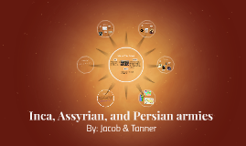 Persains, inca, and assyrain armies
