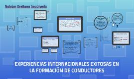 Copy of EXPERIENCIAS INTERNACIONALES EXITOSAS EN LA FORMACIÓN DE CON