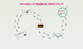 Copy of Introduce of Middlesex University