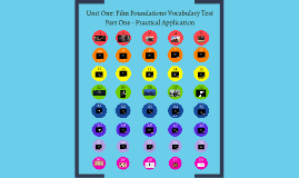 Copy of Unit One: Film Foundations Vocabulary Test