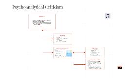 Psychoanalytical Criticism