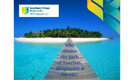 SBT Senior school presentation (Tourism), 2017